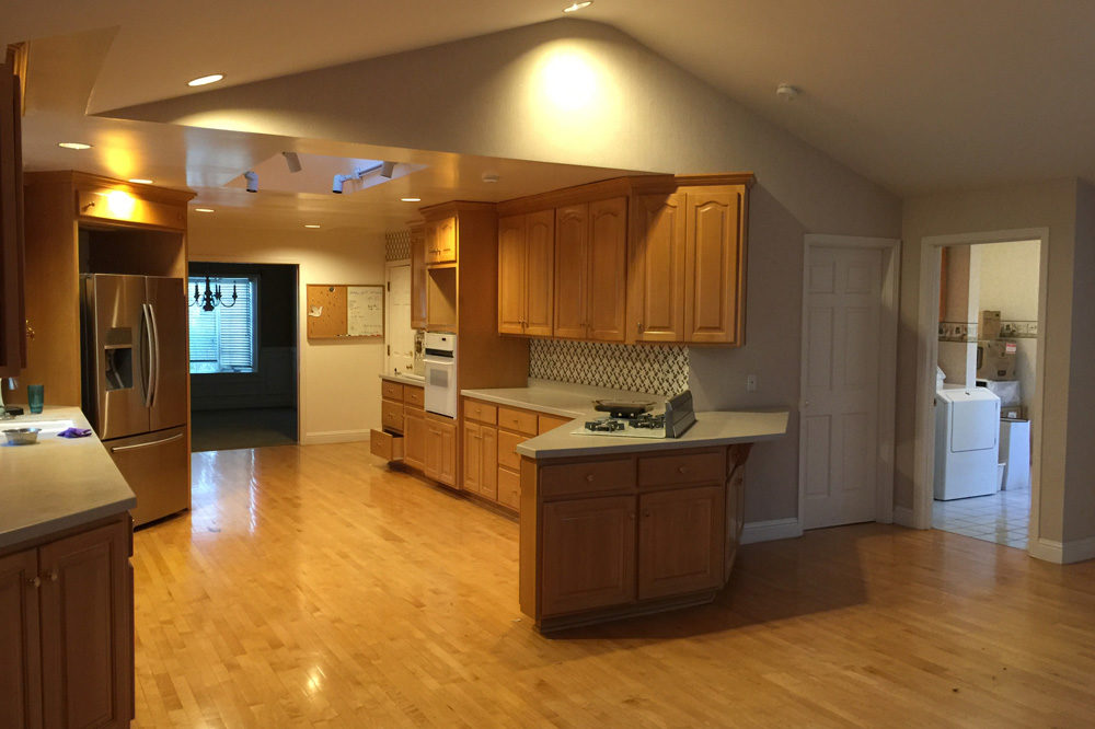 mvarchtect los gatos kitchen remodel before 1