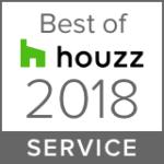 Houzz Best of 2018 Service badge mvarchitect